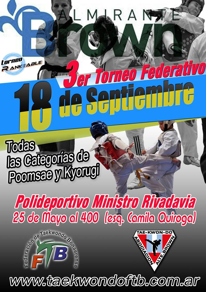 3er Torneo FTB 2016