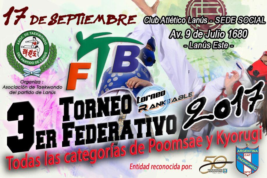 3er Torneo Federativo 2017