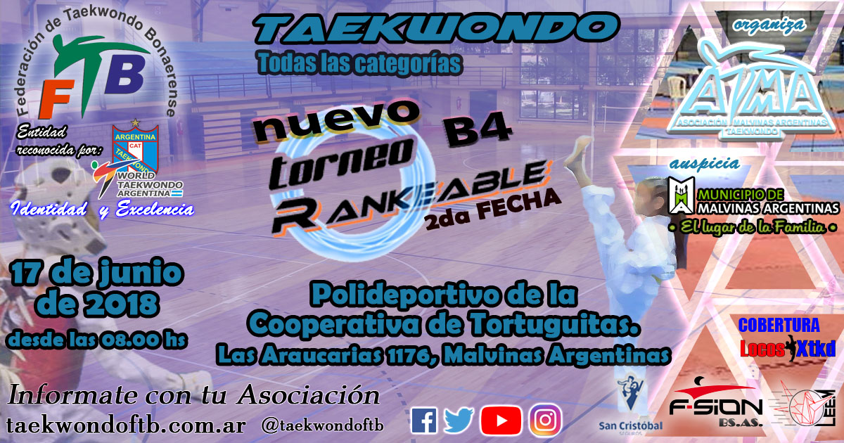 2do Torneo Rankeable B4